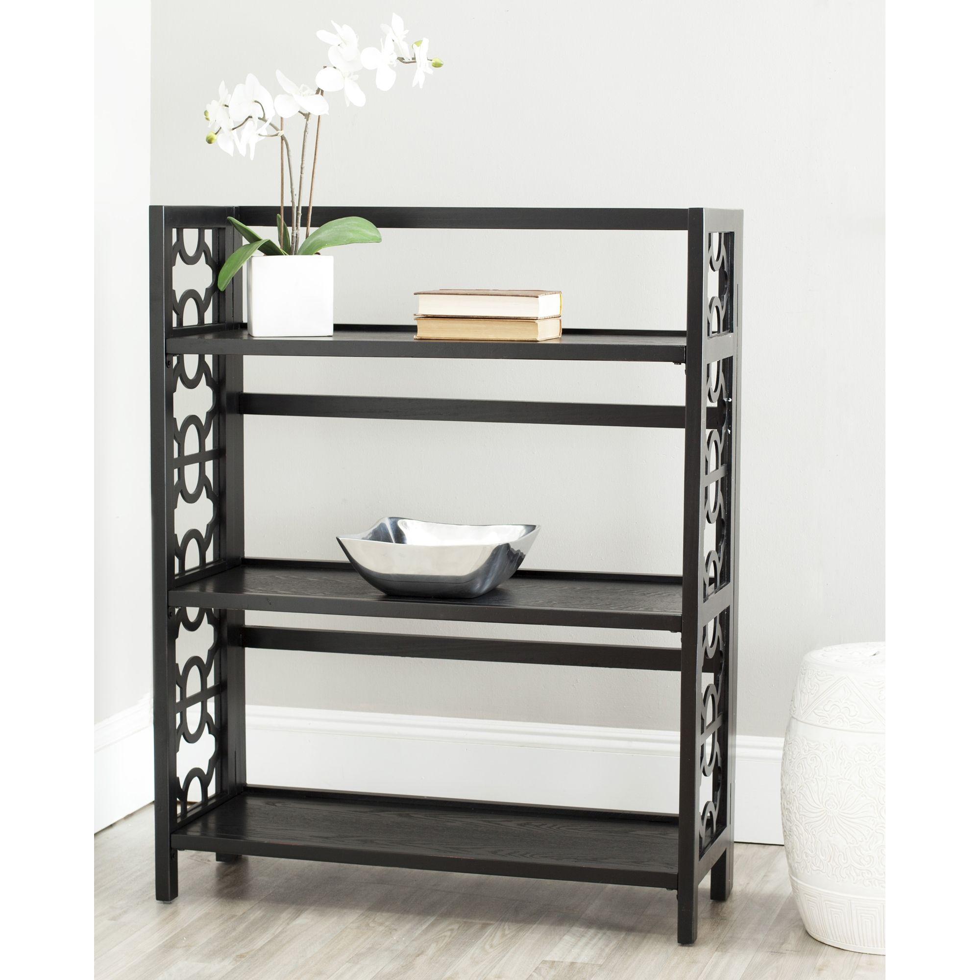 Safavieh Natalie Low Black Bookshelf By