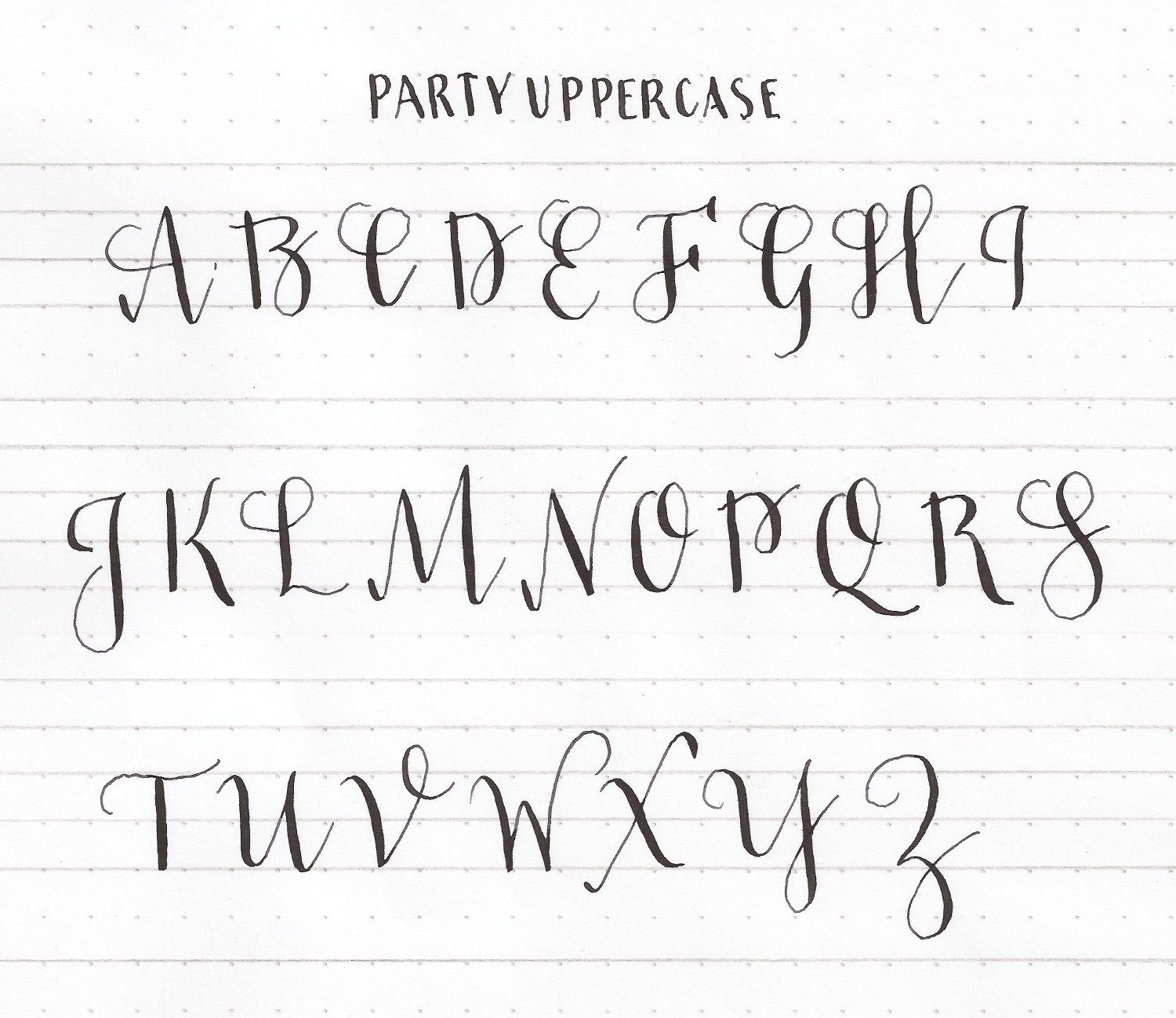 Learn Uppercase Capital Letters