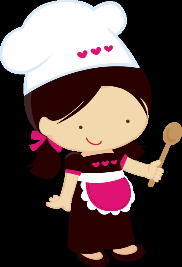 Zwd Littlechef 02 Png Clip Art Cozinheira Desenho Desenho Cozinha