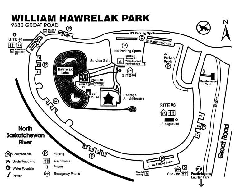 Hawrelak Park Map William Hawrelak Park | Edmonton Info | Park, Parks, recreation, Map