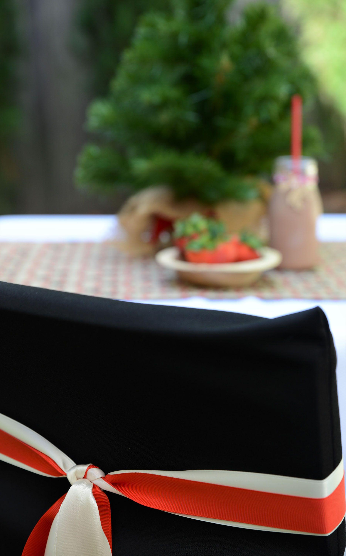 Christmas Theme Children chair cover, reindeer print