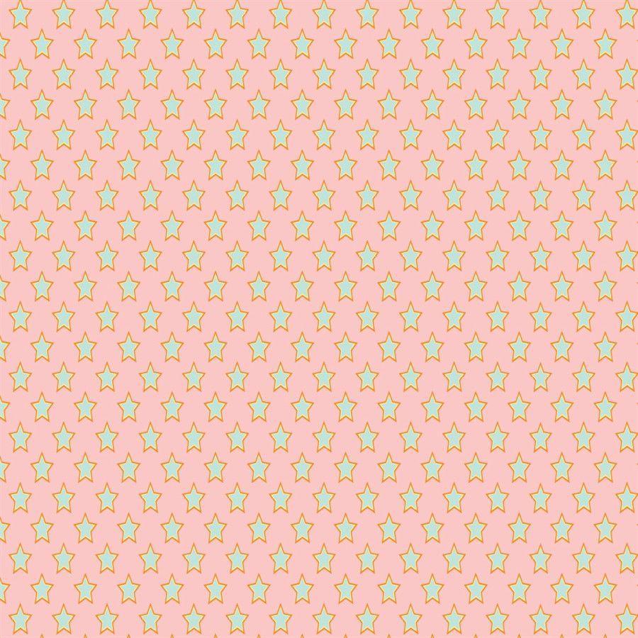 Pattern Backdrop Superstars Pink & Green