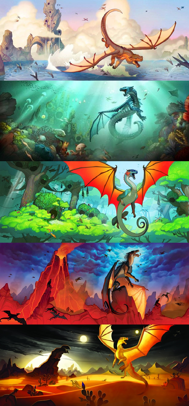 Wings of Fire SERIES 1 (Ohmahgawd I can't wait until 2015 for the next series!) My favorite book covers is The Dark Secret and The Brightest Night. WOO