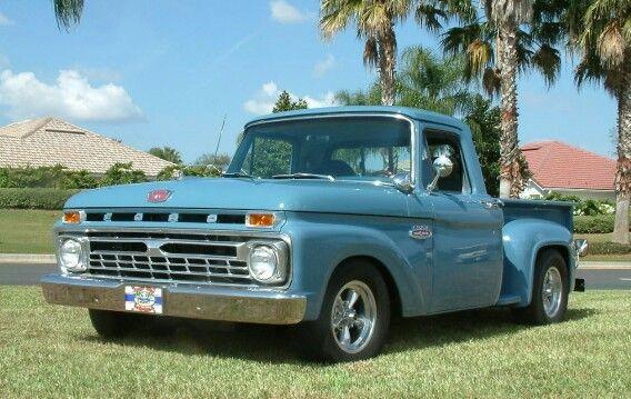 1966 Ford F100 Stepside | Old Trucks | Old ford trucks ...  1966 Ford F100 ...