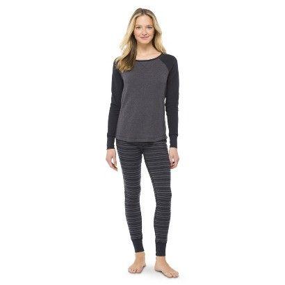 1f7bdea4de Waffle Knit Thermal Pajama Set - Xhilaration - lg