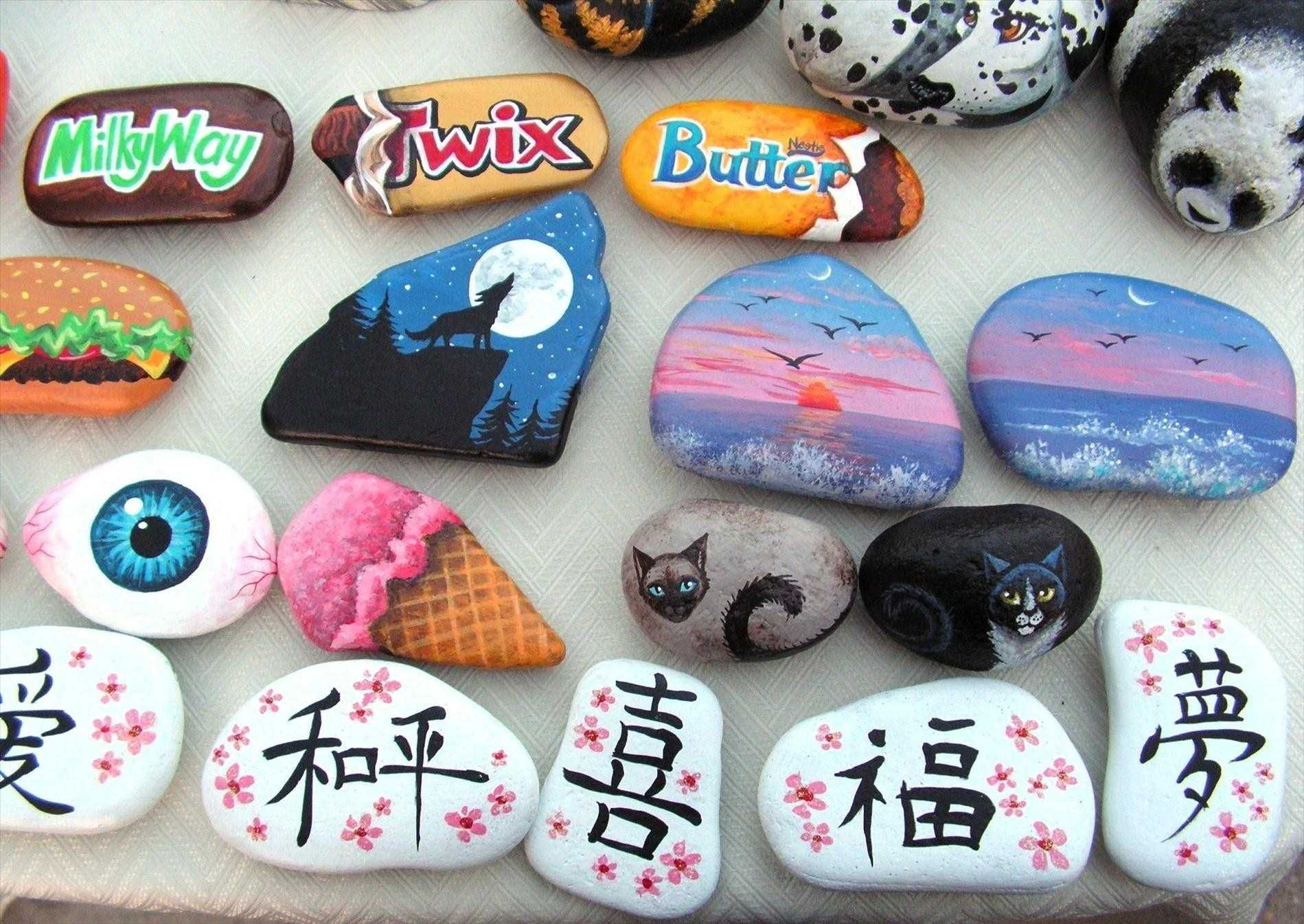 How To Paint Rocks Step By Step Rock Painting Designs Painted