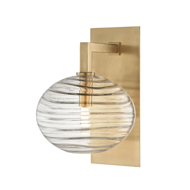 Breton 1 Light Wall Sconce By Hudson Valley Lighting In 2020 Wall Sconce Lighting Hudson Valley Lighting Wall Sconces