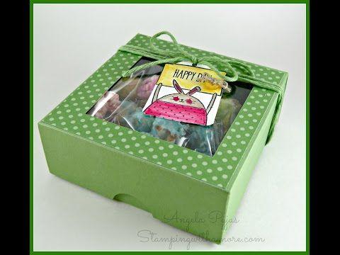 Springtime Popcorn Box