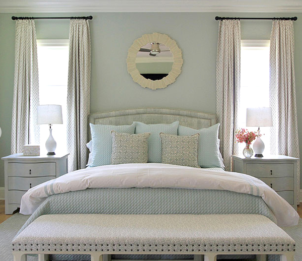 Andrew Howard Design Perfectly Balanced Bedroom Retreat Soothing Palette Of Blues Whites