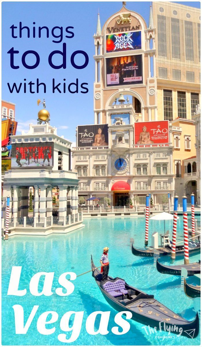 Family Vacation Las Vegas Where To Go On Vacation With Kids Las