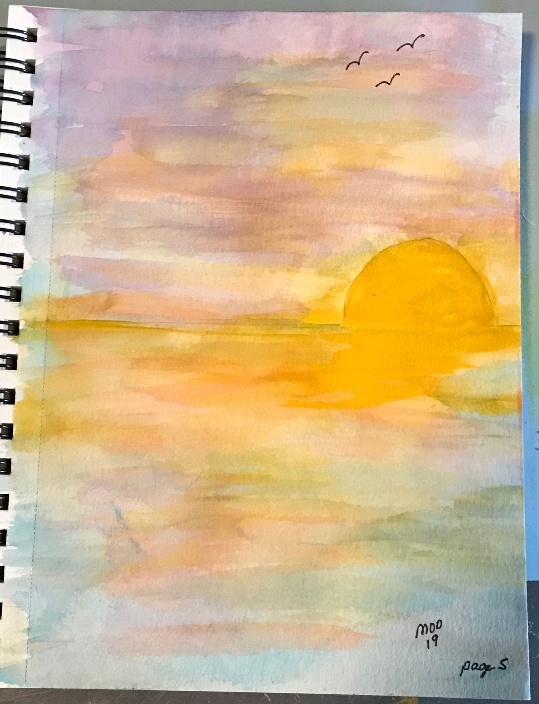 Art Journal Watercolor Page 5 Art Painting Watercolor