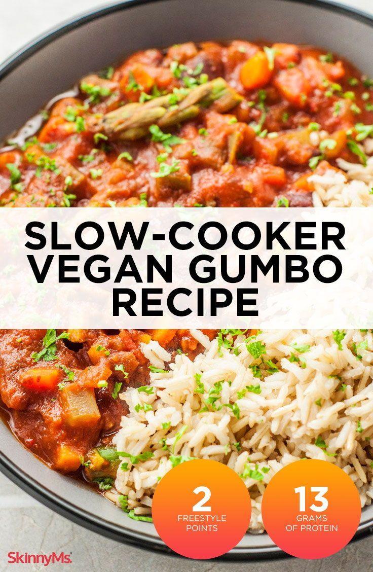 Slow Cooker Vegan Gumbo