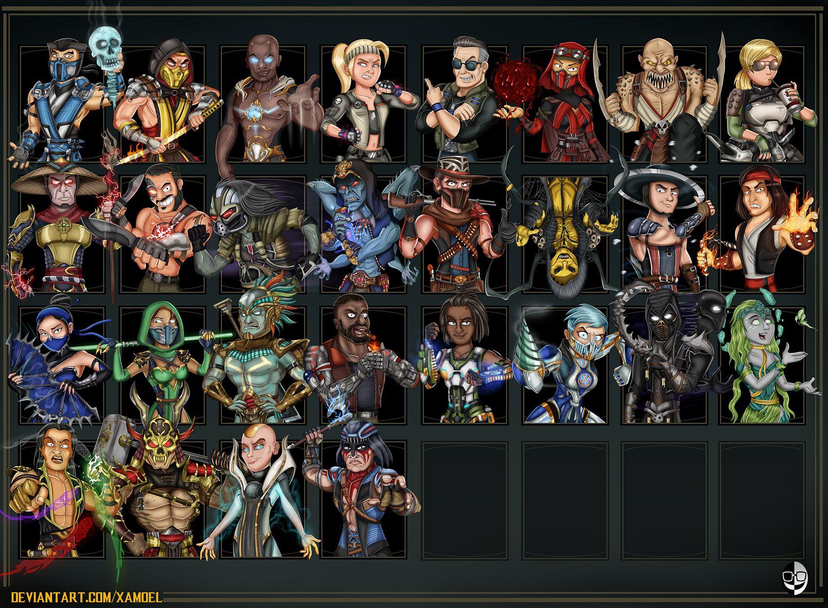 Mortal Kombat 11 By Xamoel On Deviantart In 2020 Mortal Kombat
