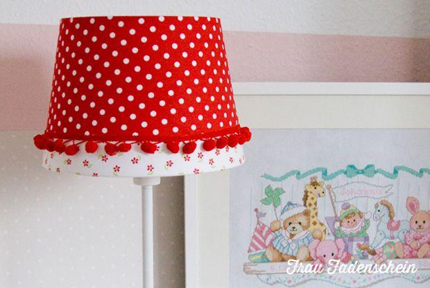 ein lampenschirm in neuem kleid lampen lampen. Black Bedroom Furniture Sets. Home Design Ideas