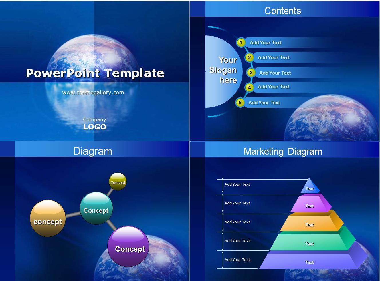 Plantillas para PowerPoint presentaciones - Identi | Plantillas para ...