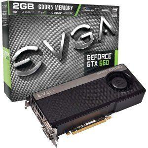 EVGA GeForce GTX 660 Graphic Card - 993 MHz Core - 2 GB GDDR5 SDRAM - PCI-Express 3.0 x16. EVGA GEFORCE GTX 660 2048MB GTX 660. 6008 MHz Memory Clock - 2560 x 1600 - SLI - Fan Cooler - DirectX 11.0, OpenGL 4.2 - HDMI - DisplayPort - DVI by EVGA. $299.99. EVGA GeForce GTX 660 Graphic Card - 993 MHz Core - 2 GB GDDR5 SDRAM - PCI-Express 3.0 x16. EVGA GEFORCE GTX 660 2048MB GTX 660. 6008 MHz Memory Clock - 2560 x 1600 - SLI - Fan Cooler - DirectX 11.0, OpenGL 4.2 - HDM...