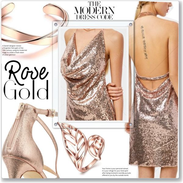 How To Wear Rose Gold Jewelry Outfit Idea 2017 Fashion Trends