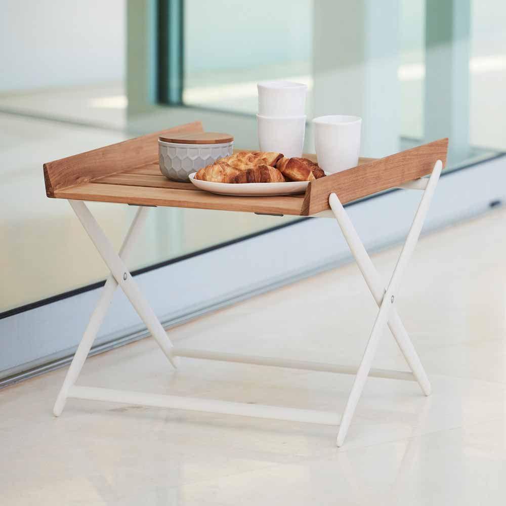 Cane Line Beistelltisch Rail Klappbar In 2020 Furniture Table