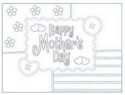 Easy Printable Mothers Day Cards Ideas For Kids | Family Holiday