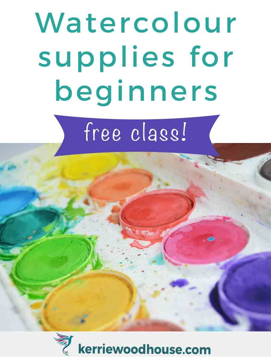 Watercolors For Beginners Basic Supplies Watercolor Art