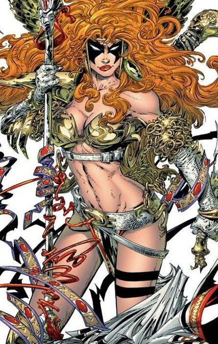 comic book kingdom angelic bounty hunter angela comic book