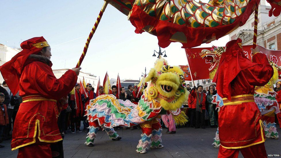 In pictures Lunar New Year Year of the dragon, New year