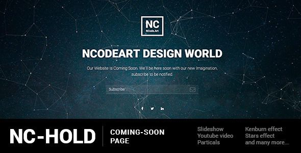 Download Free Nc Hold Coming Soon Page Animation Background Bootstrap Coming In 2021 Coming Soon Page Hold On Html5 Templates