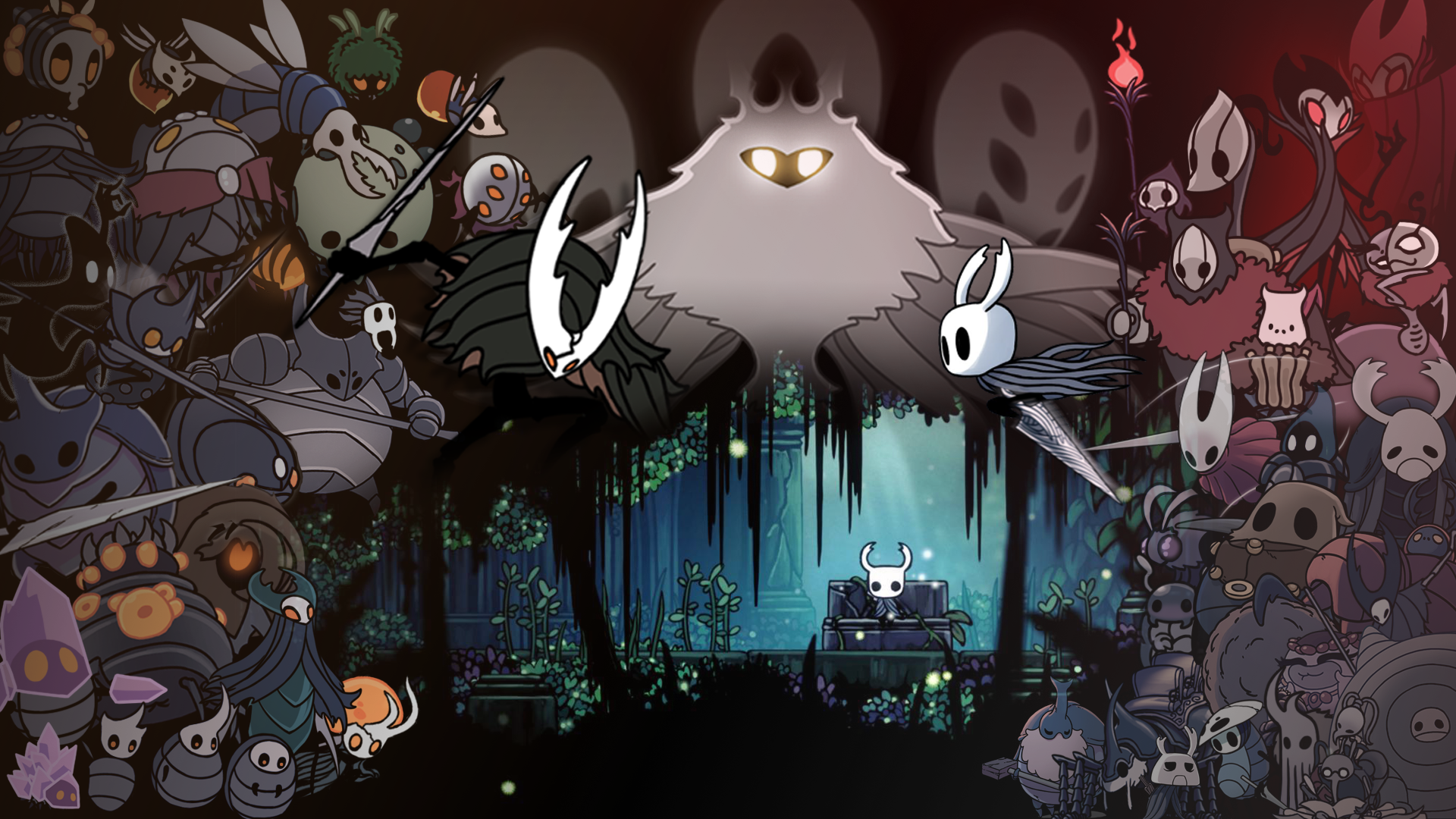 Hollow Knight Wallpaper Finished 1920x1080 No Godmaster Related Bosses Yet Need Trendy Iphone7 Iphone7plus Case Cartoon Wallpaper Hd Hollow Art Knight