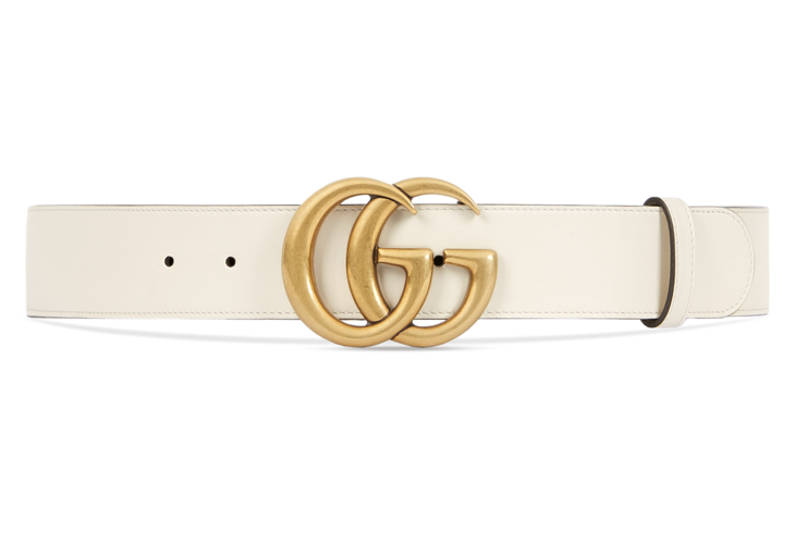 Gucci Leather Belt With Double G Buckle In 2021 Gucci Leather Belt Womens Leather Belt Wide Leather Belt