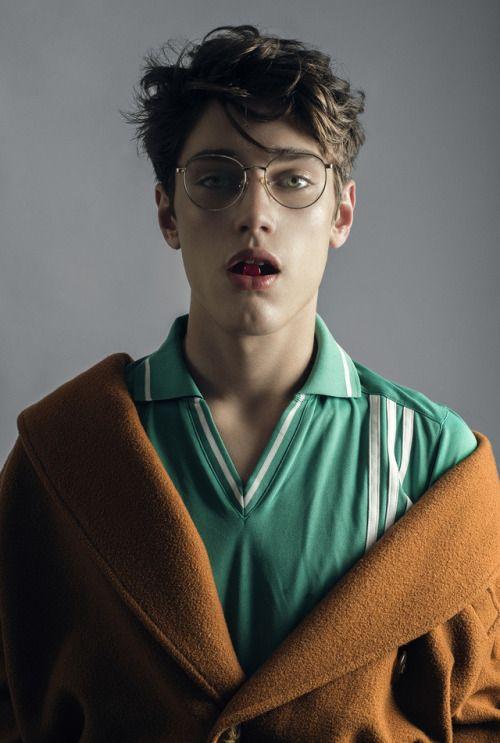 Gino Pasqualini Portrait Aesthetic People Boys Glasses