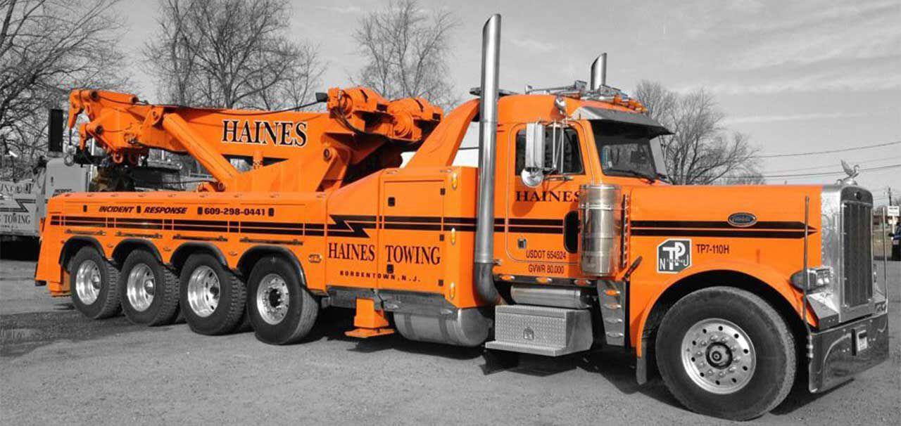 haines towing bordentown nj peterbilt 379 w b b 80 ton rotator pickup trucks pinterest. Black Bedroom Furniture Sets. Home Design Ideas