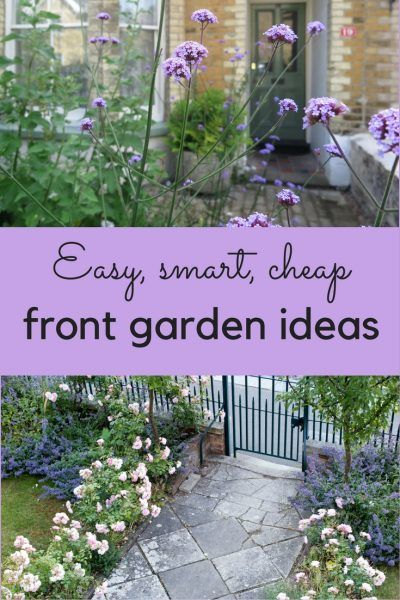 The best front garden ideas  smart, easy and cheap is part of Front garden Tree - 8 easytocopy front garden ideas to make your home look attractive, stylish and welcoming  How use plants, paint and paths to transform your front garden