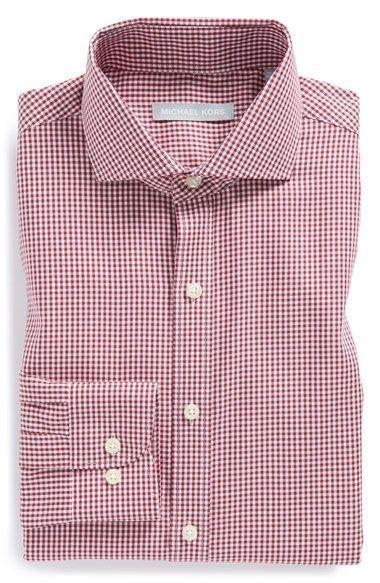 Michael Kors Regular Fit Non-Iron Check Dress Shirt available at #Nordstrom