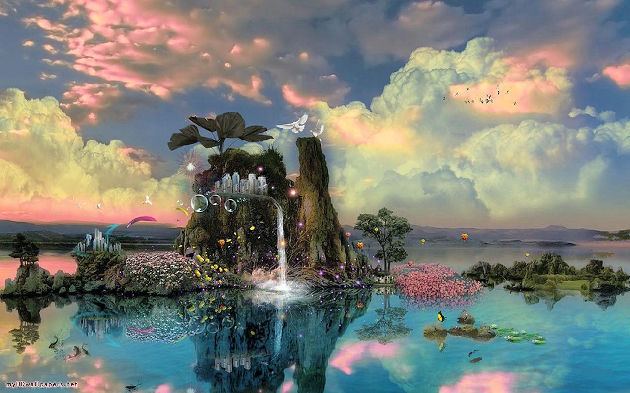 Fantasy Nature Art FantasyArt VistaLore daily pics of