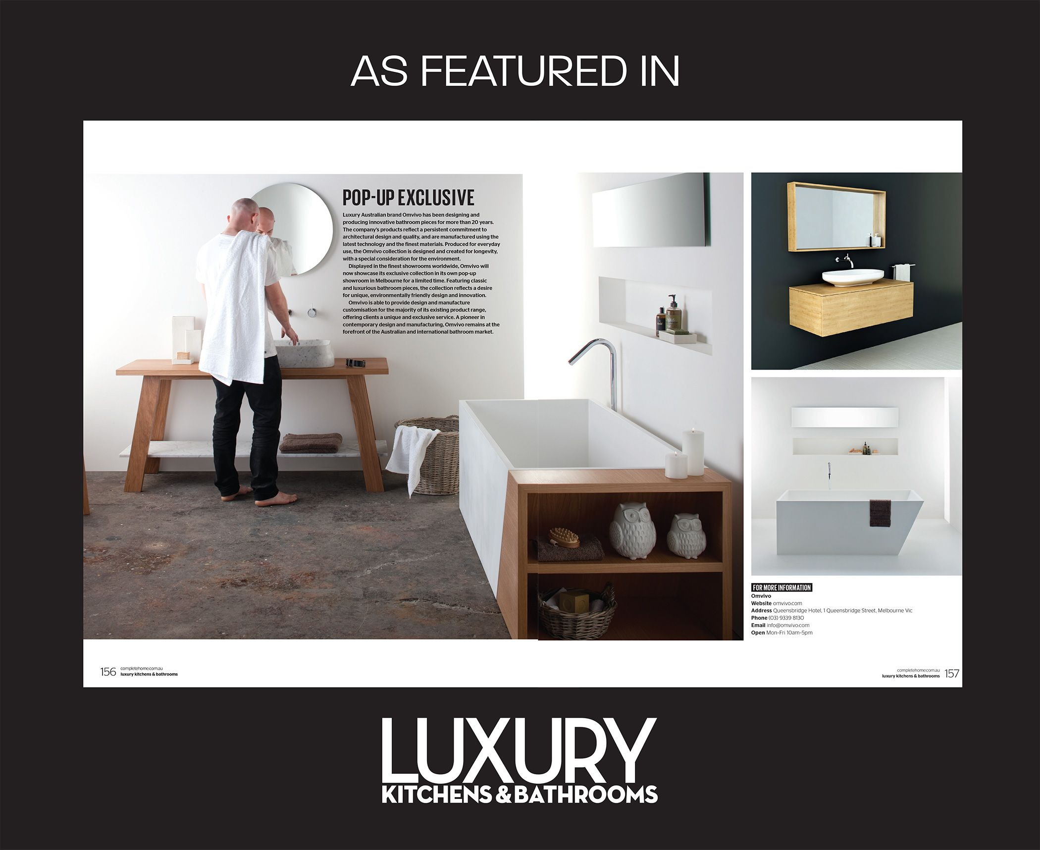 We Have A Pop Up Exclusive In Luxury Kitchens U0026 Bathrooms July/August  Edition