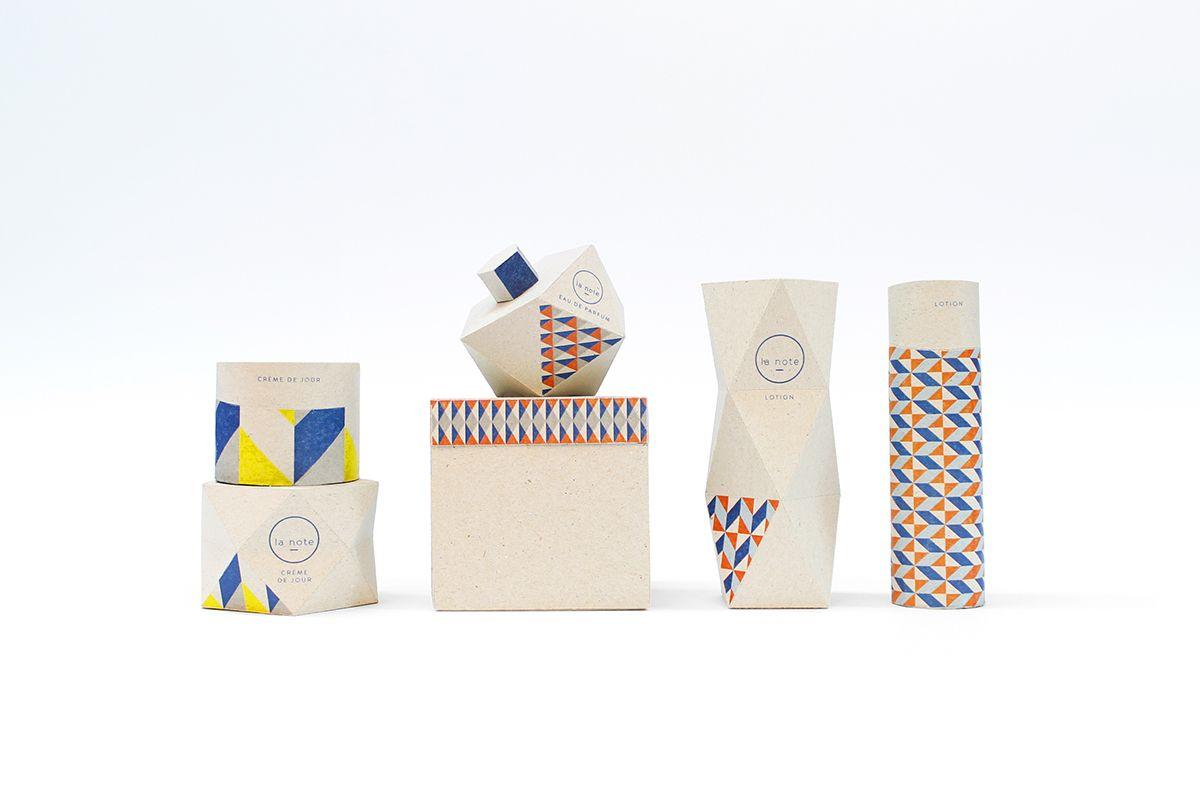 La note - parfum Papier Tigre on Packaging Design Served