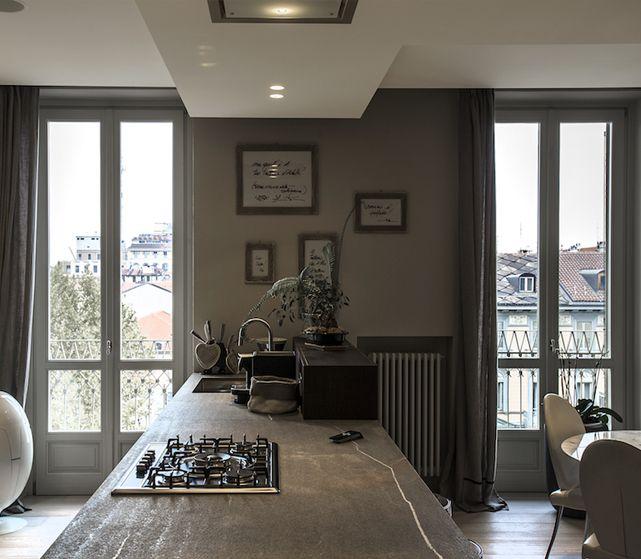 Casa m me interior design di un appartamento a torino by for Casa design torino