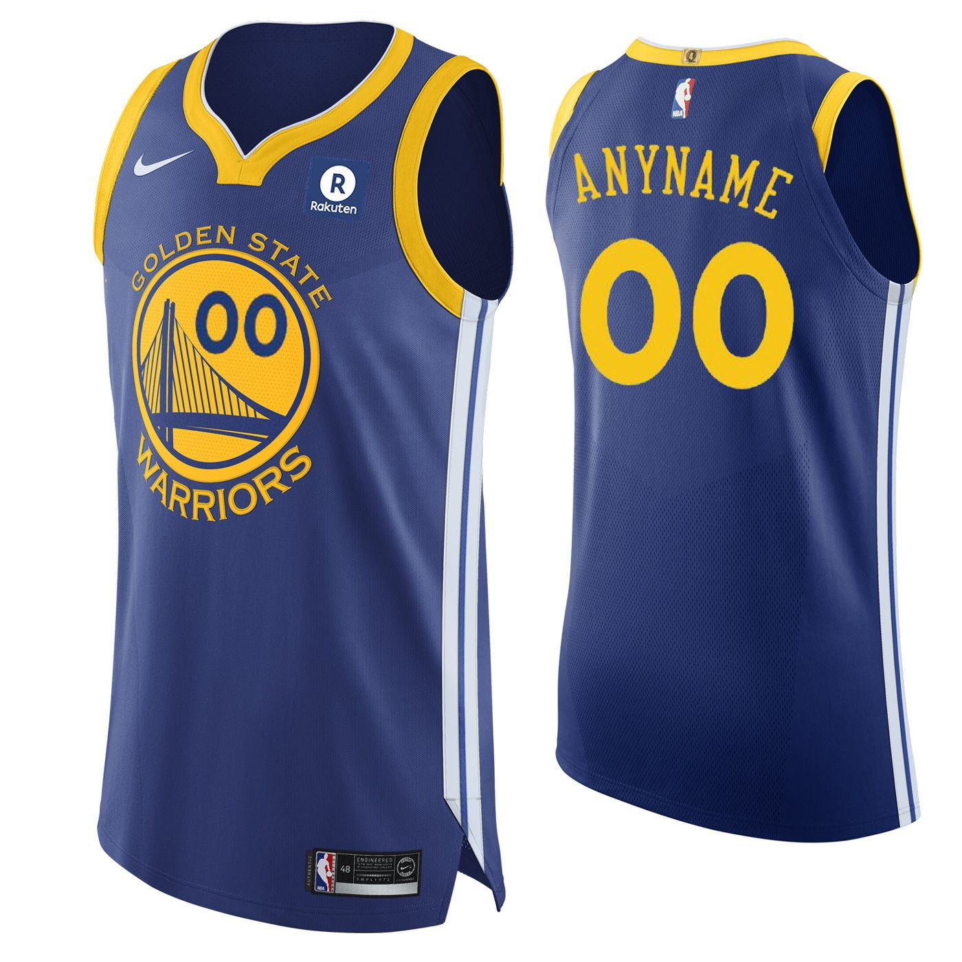 golden state warriors custom jersey