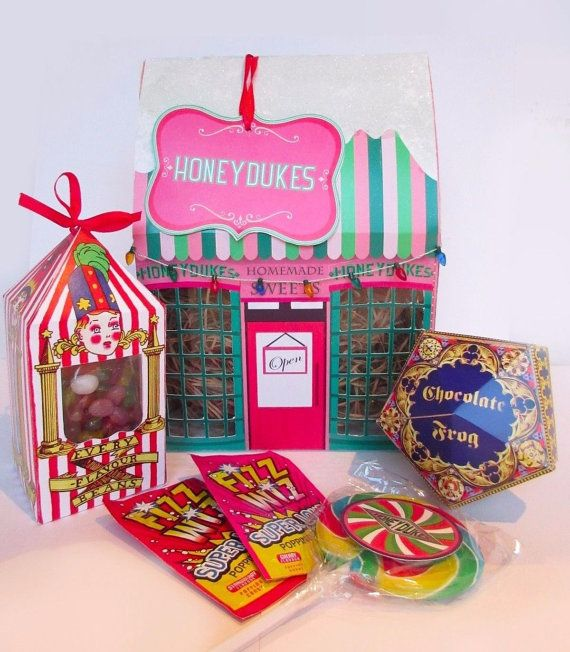 Harry Potter Honeydukes Candy Traditionelle Von Ohthewhomanity