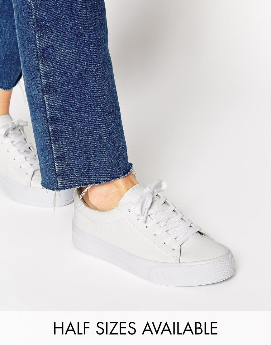 Buy Women Shoes / Asos Dallington Lace Up Trainers