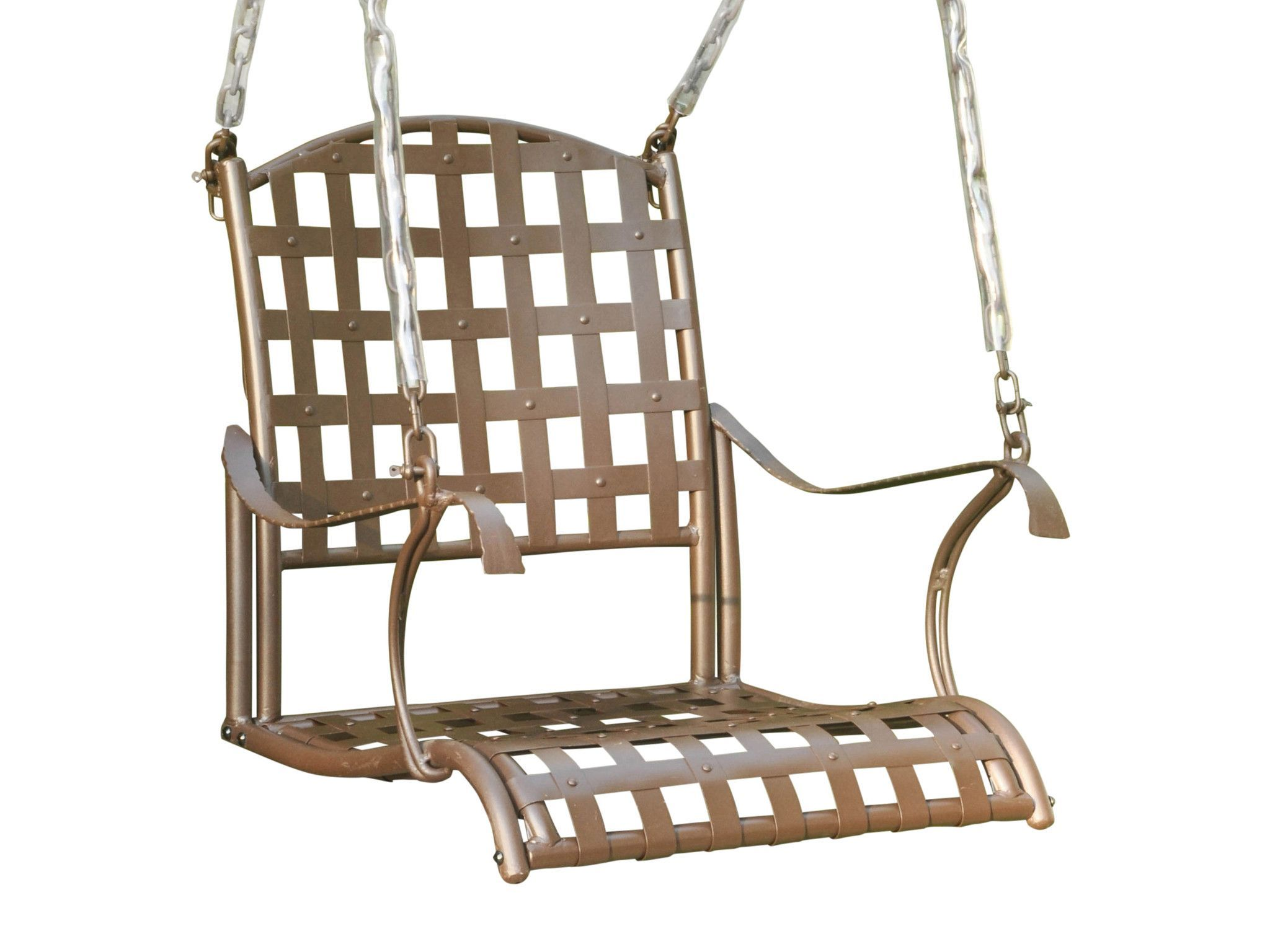 Santa Fe Iron Chair Swing. | outdoor projects | Pinterest