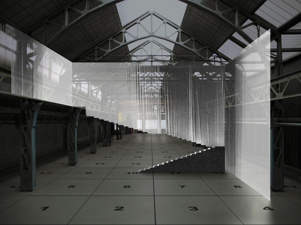 Bühnenbild zu Europeras von John Cage