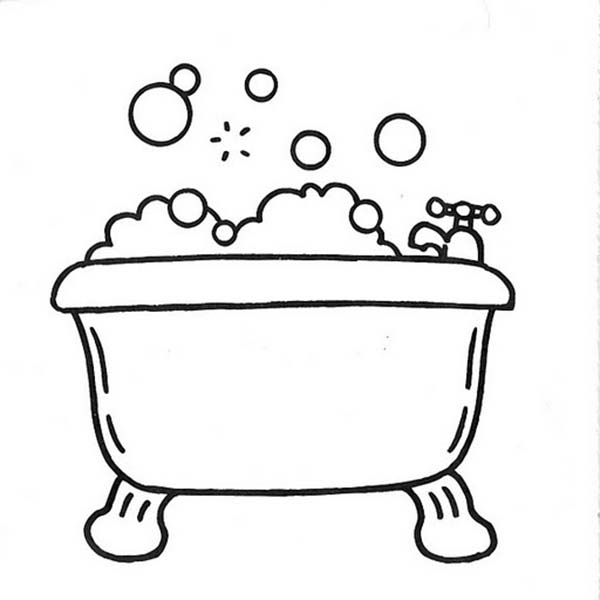 Bathtub Full Of Bubbles For Bath Coloring Pages Bulk Color Coloring Pages Bubble Pictures Coloring Sheets