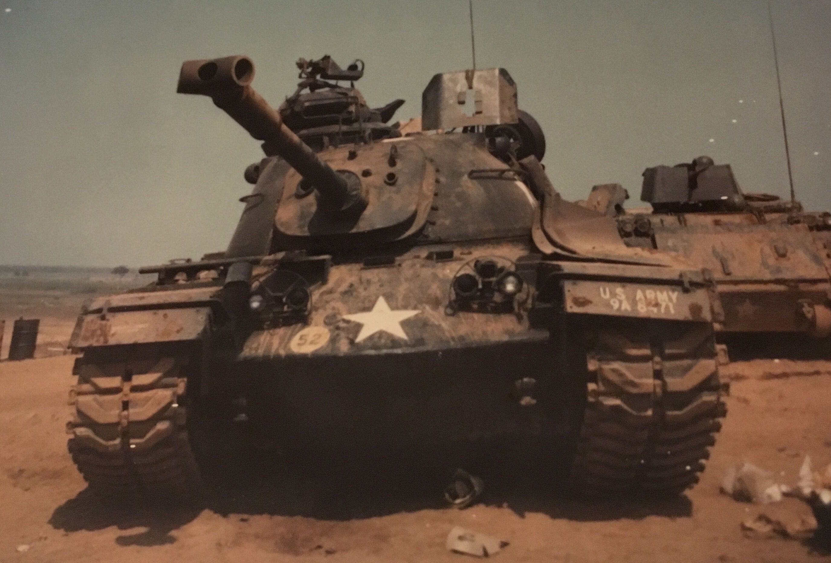 M48A3 (A-15) from A Troop, 1st Squadron, 1st Cavalry