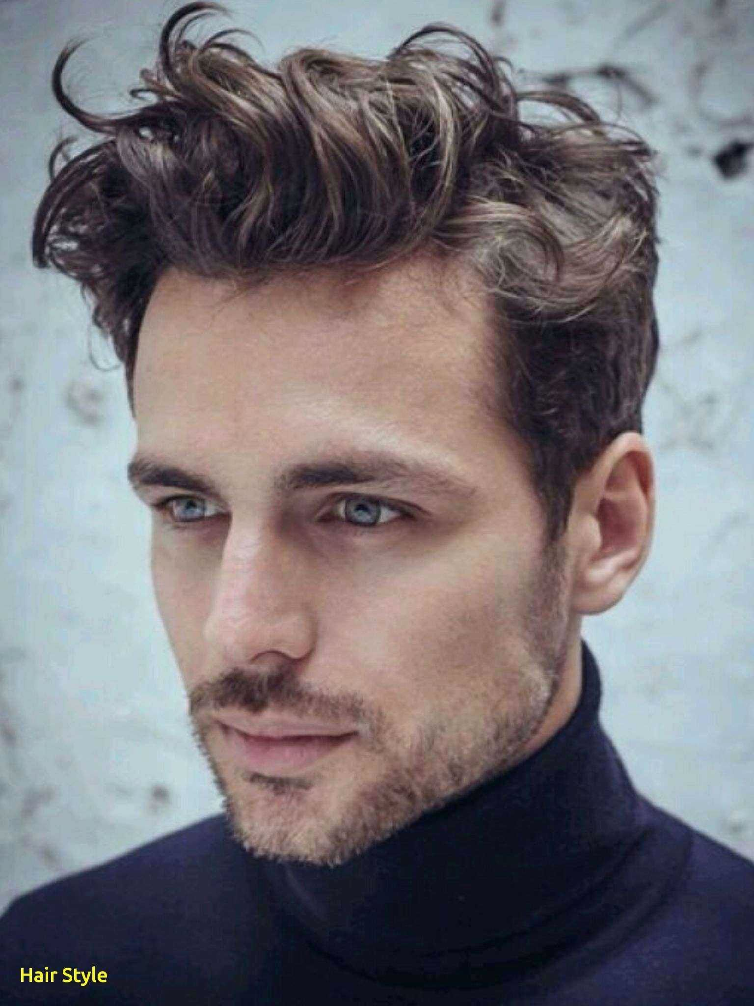 Line Lovely Hairstyle Suits Me Male Wavy Hair Men Curly Hair Men Men Haircut 2018