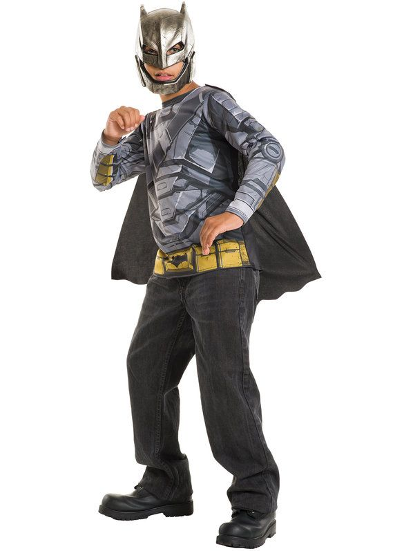 Check out Batman V Superman- Kids Armored Batman Costume Top ...