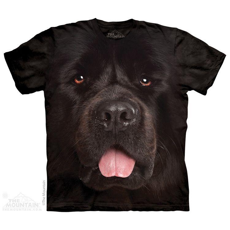 The Mountain Big Face Newfie T-Shirt