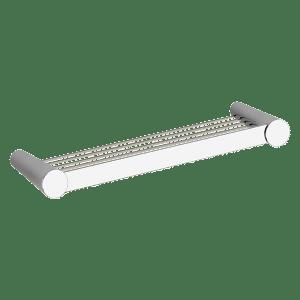 45549 - Gessi Cono 45cm Shelf - Bathroom #abeyaustralia #gessi #chrome  #bathroomaccessories #bathroomshelf  #prosperorasulo