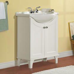 "Bathroom Vanity Ensembles $229 menards - sometimes called a ""belly bowl"" sink | bath"