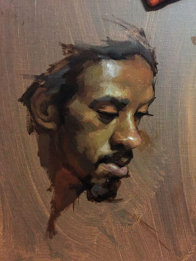 emotional portrait paintings by jennifer gennari